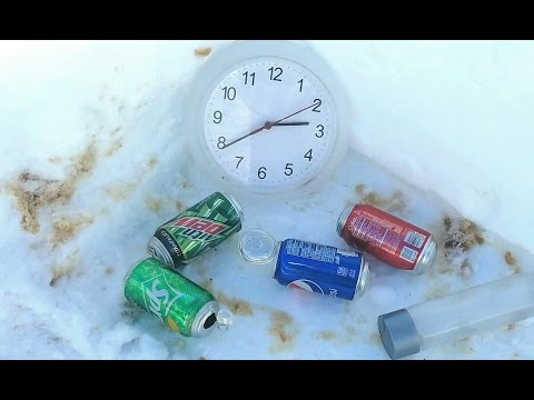 -19 Degree Exploding Pop FAIL Coke vs Pepsi which one Explodes first?
