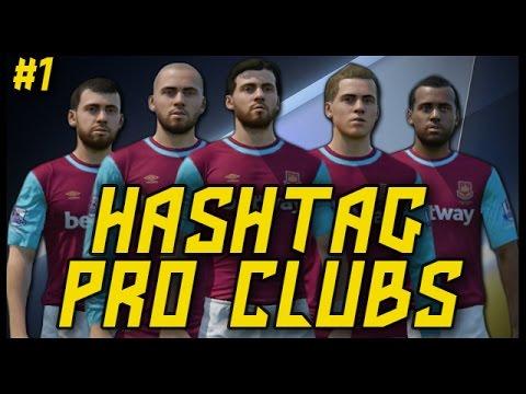 HASHTAG UNITED PRO CLUBS! #1 - Fifa 16