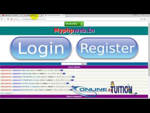 how to add login register button on wapact website in hindi
