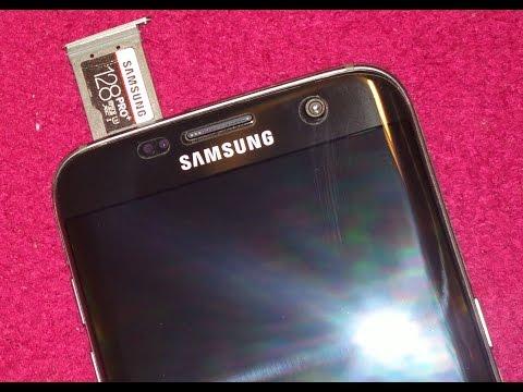 Samsung Micro SD PRO+ 128GB Memory Card with Galaxy S7 edge