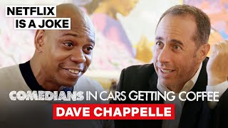 Dave Chappelle Tells Jerry Seinfeld Why He Only Eats Hard-Boiled Eggs | Netflix Is A Joke