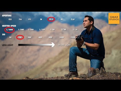 Exposure triangle | Relationship between aperture, shutter speed & ISO | Learn photography Episode 5