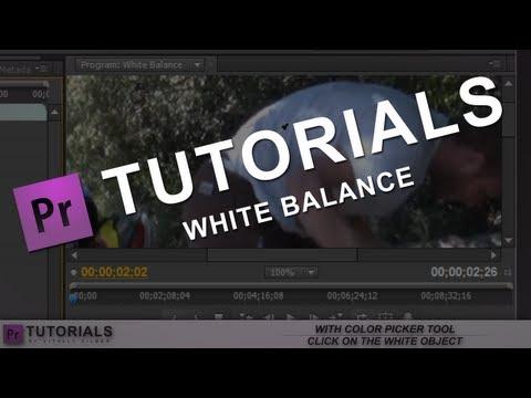 Adobe Premier Pro CS5 Tutorial: White Balance