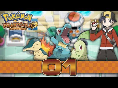 Pokemon HeartGold - Part 1 - New Bark, New Bite