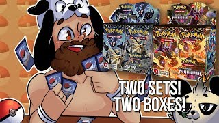 2 Sets, 2 Boxes, TONS OF GOOD CARDS! - POKEMON SUN AND MOON BOX OPENING