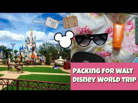 packing tips for your Walt Disney World vacation