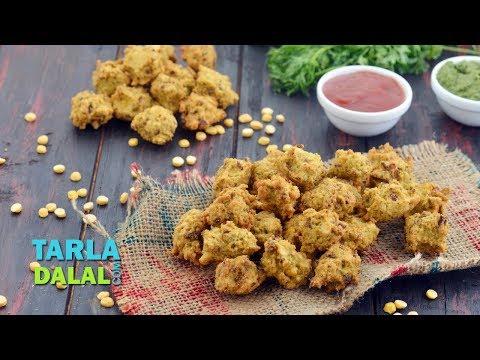 Chana Dal Bhajiya by Tarla Dalal