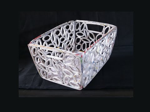 How To Make Basket From Newspaper | Best Out Of Waste | DIY Basket Making | Newspaper Craft