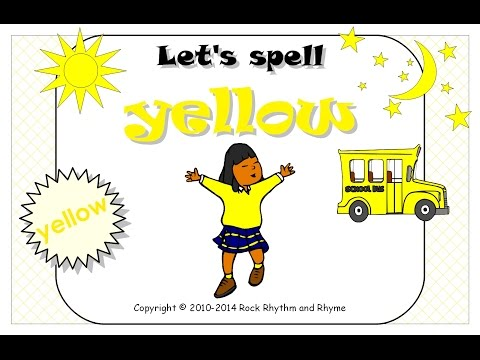Let's Spell Yellow - Sample