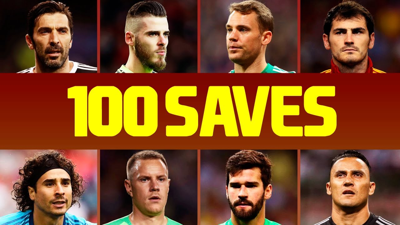 100 Best Goalkeeper Saves Of The Decade • 2010-2019
