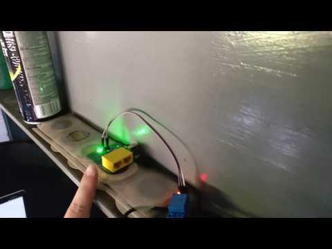 OpenWRT DIY WiFi garage door opener