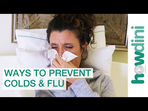 Top 5 Ways to Prevent the Flu or a Cold this Season | Howdini