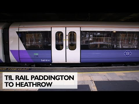 TfL Rail Paddington to Heathrow