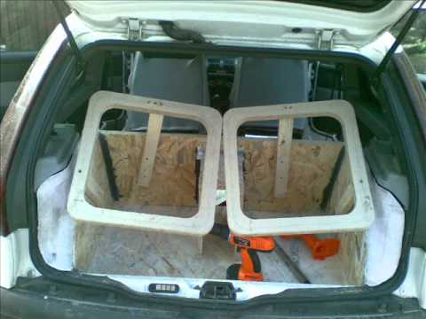 KICKER S15 L5 punto bass box custom build