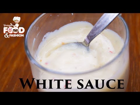 How To Make White Sauce At Home || Easy White Sauce Recipe || Bechamel Sauce Recipe