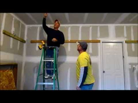 How To Install Storage Shelves In Your Garage