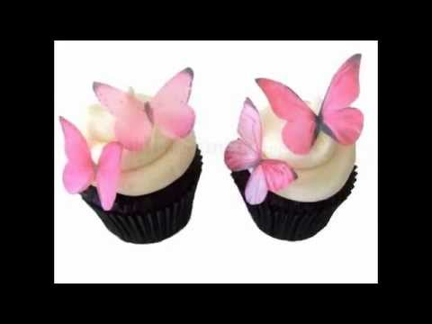 Edible Butterflies for Decorating Cake & Cupcakes