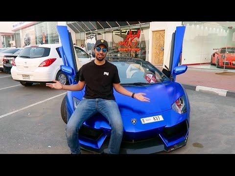 21 Year Old Driving a Lamborghini Aventador in Dubai !!!