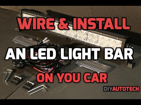 Fabulous How To Install Led Light Bar Wiring Harness Wiring Cloud Oideiuggs Outletorg