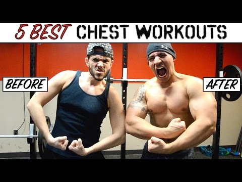 TOP 5 CHEST EXERCISES to get RIPPED | Best Pecs Workout | Cheap Tip #257