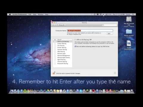 How to Rename a Mac HD