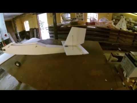 Building a rc depron plane.