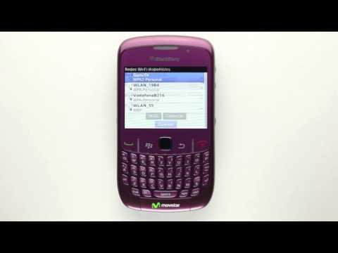 Movistar - Cómo configurar la conexión wifi en una Blackberry Curve 8520