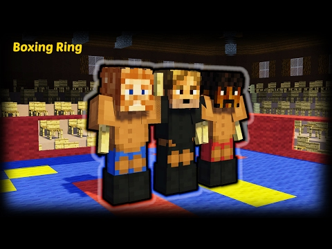 Minecraft - How To Make A Boxing Ring