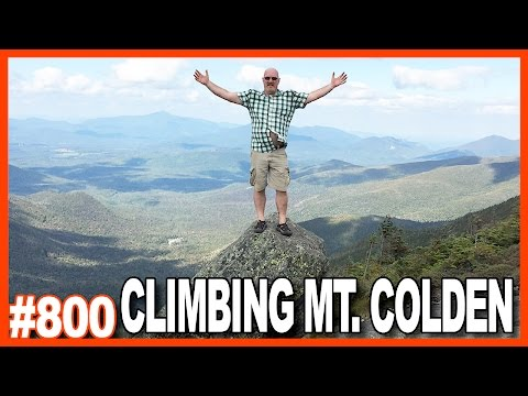 CLIMBING MT. COLDEN in the ADIRONDACKS, NEW YORK, USA *BLOOD ALERT!*