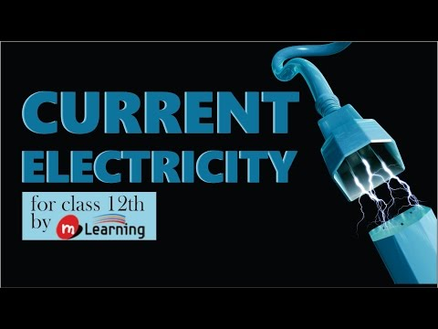 Drift Velocity: Current Electricity - 03 For Class 12th