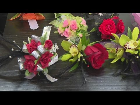 Prom and spring flowers with Watanabe Floral