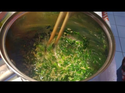 Mom's Chinese Ginger and Scallion Sauce Recipe