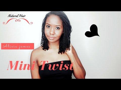How I Do My Mini Twist - Alicia James