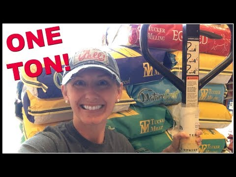 One TON of Feed from Tucker Milling for GAHC2018!