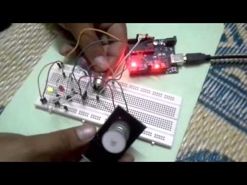 Controlling DC motor speed using arduino and potentiometer
