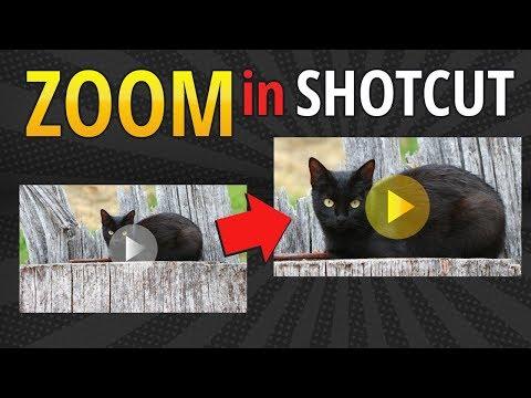 Shotcut Zoom In Effect Tutorial