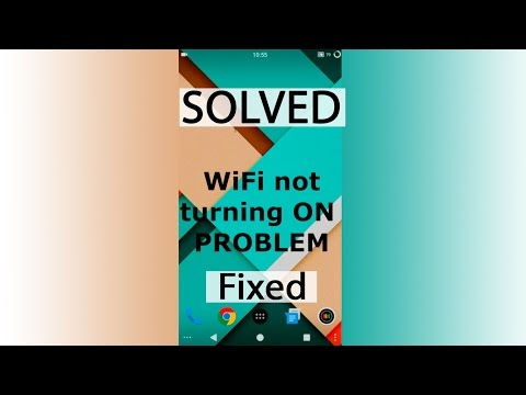 [Fixed] WiFi not turning on at all problem solved | Android