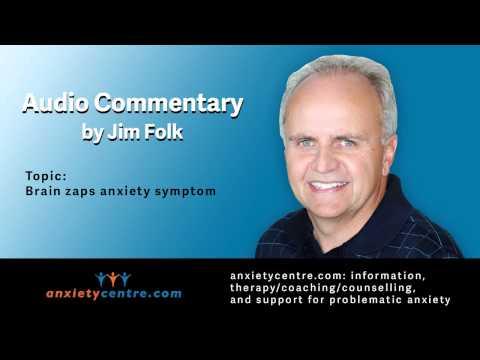 Brain zaps anxiety symptom commentary