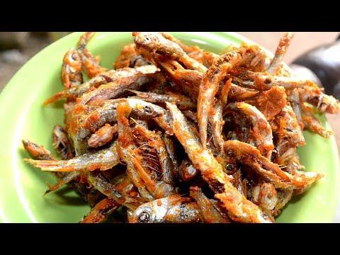 Small Fish Fry Recipe -How to make  crispy Sardines Fish Fry - Mathi Fry,Chala fry