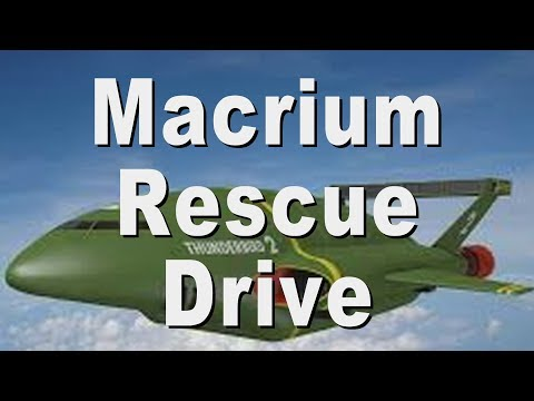 Tuturial On How To Create Macrium Reflect Rescue Media Boot USB Disk Drive With Storage Partition