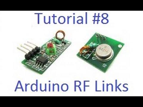 Arduino Tut. #8 - Wireless RF Links Tutorial & Noise Reduction