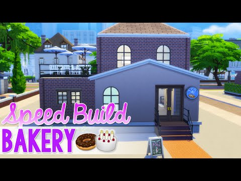 Sims 4: Speed Build - Get to Work LP Bakery {Perez Sweets}