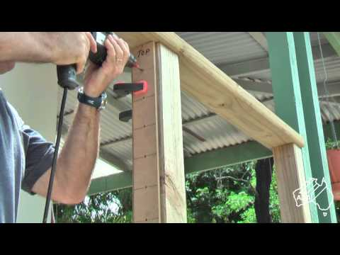 DIY Installing System C Stainless Wire Balustrade - Saddles as anchor points