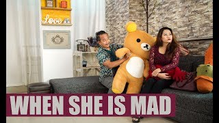 How to deal with angry girlfriend | Comedy | Dreamz Unlimited