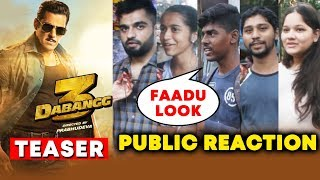 DABANGG 3 Teaser | Public Reaction | Salman Khan As Chulbul Pandey