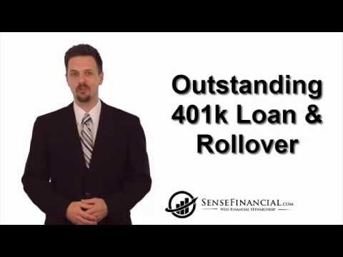 Solo 401k Rollover and Outstanding Loan