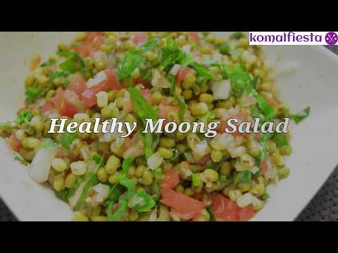 Healthy Moong salad ||  Diet recipes for weight loss || No Carb Dinner diet plan