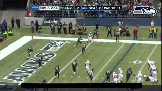 Seattle Seahawks Highlights vs NYJ(Week 10, 2012)