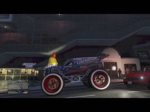 GTA 5 Monster Truck