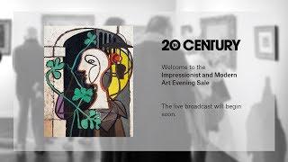 Live Stream  Impressionist And Modern Art Evening Sale New York  11 November 2018